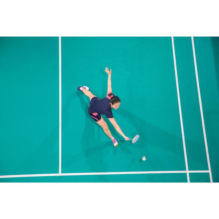 Chaussures De Badminton Femme BS 560 Lite - Blanc/Bleu