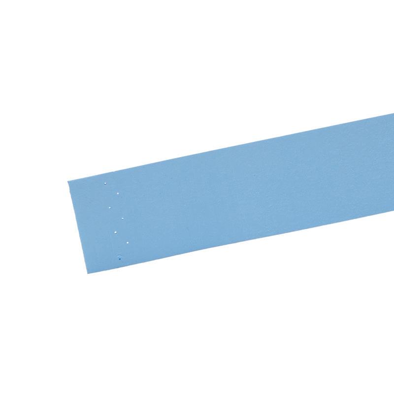 BADMINTON COMFORT OVERGRIP X 3 BLUE BLACK ORANGE