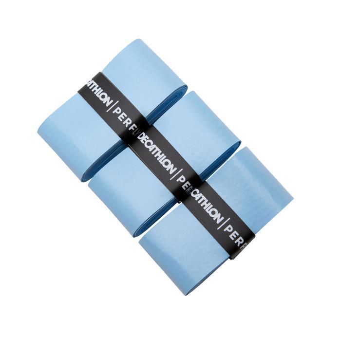 Overgrip voor badminton Comfort - drie stuks - hemelsblauw