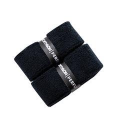 Badmintongrip - Towel Grip x 2 zwart