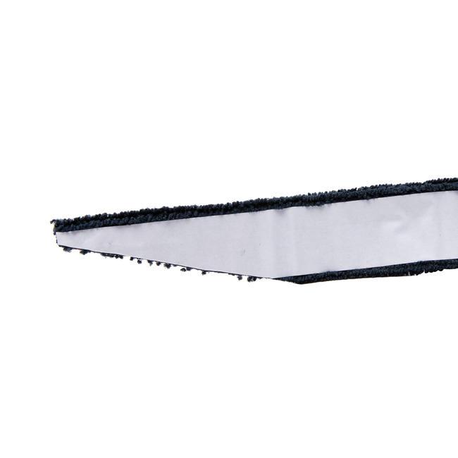 BADMINTON TOWEL GRIP x 2 BLACK