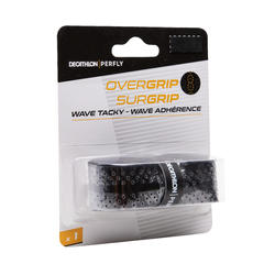 BADMINTON WAVE OVERGRIP X 1 BLACK