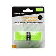 BADMINTON WAVE OVERGRIP X 1 FLUO GREEN