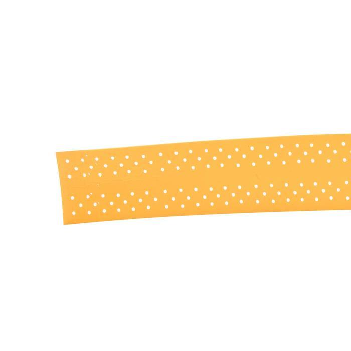 單入波浪型羽毛球拍握把布-橘色