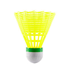 PLASTIC SHUTTLECOCK PSC 100  Medium 3-Pack
