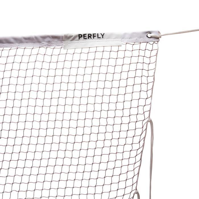 Badmintonnet voor wedstrijden zwart