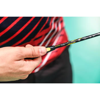 Raquette De Badminton Adulte BR590 - Noir/Jaune