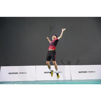 Badmintonracket BR590 voor volwassenen zwart/geel