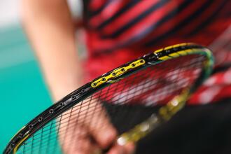 bespanning van het racket