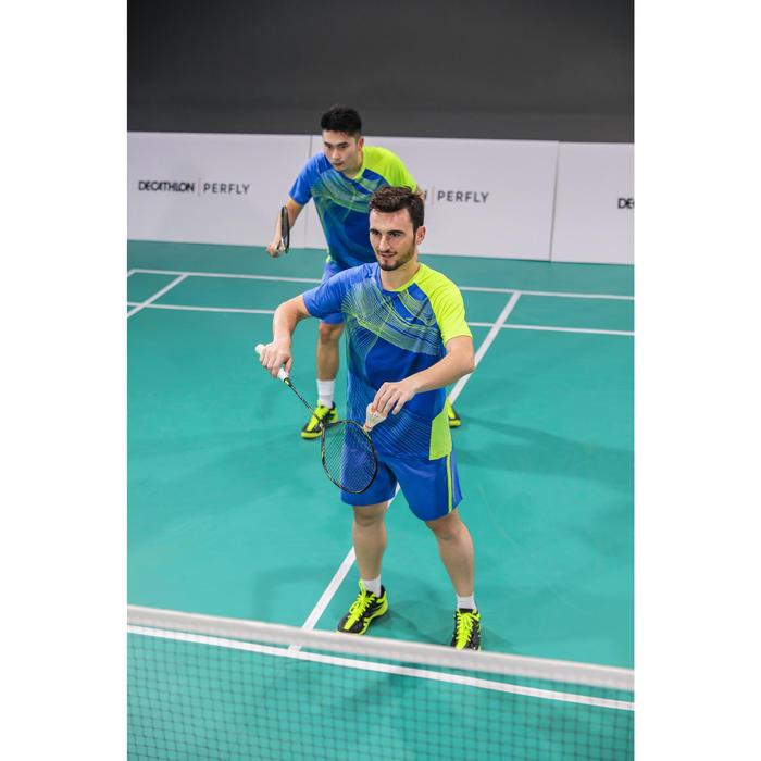Badmintonschuhe BS590 Max Komfort Herren schwarz/gelb