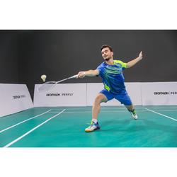 Raquette De Badminton adulte BR590 Forme V - Blanc