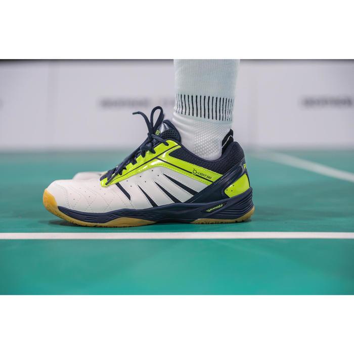 Chaussures De Badminton Homme BS 560 Lite - Blanc/Jaune