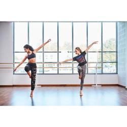 Leggings estampados de danza moderna/fitness niña