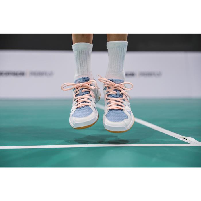 兒童款羽球鞋BS 500-粉紅色