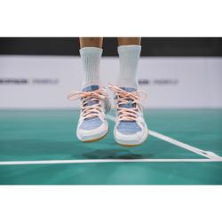 Badmintonschuhe BS 500 Kinder Mädchen rosa