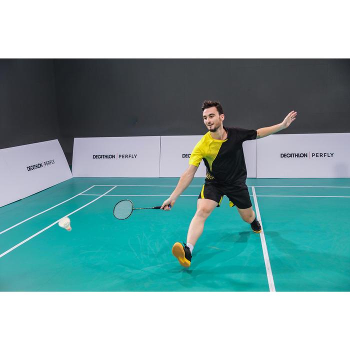 Badmintonracket voor volwassenen BR 500 zwart/geel