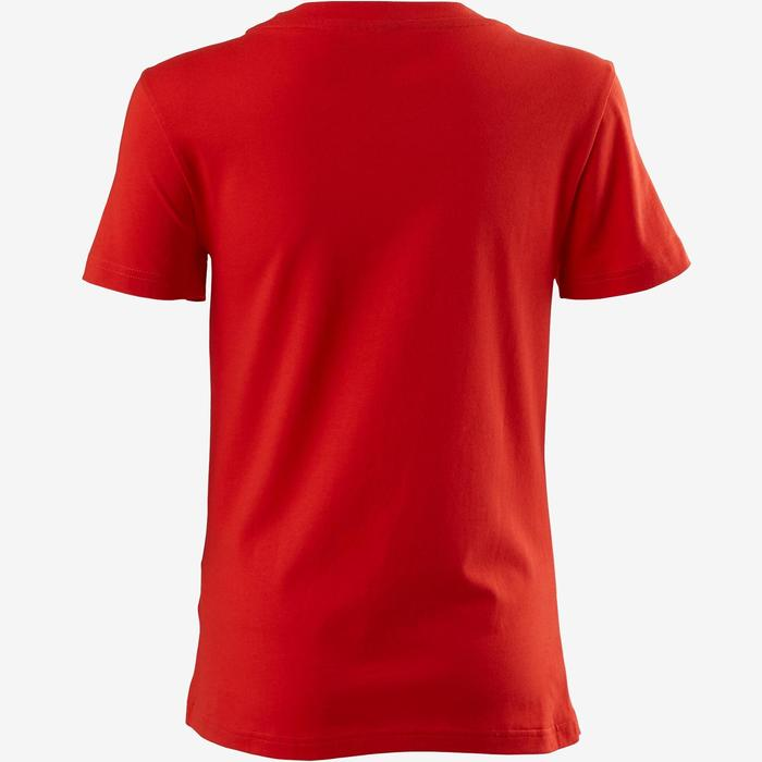 T-Shirt Adidas femme rouge/blanc