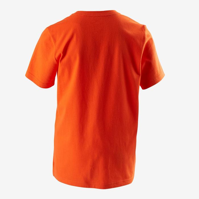 T-Shirt Fitness Kinder orange