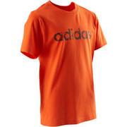 Oranžna majica s kratkimi rokavi za dečke