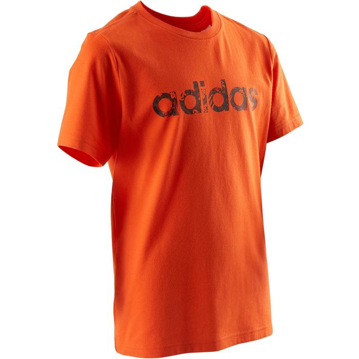 585b3bc65 Camiseta Manga Corta Deportiva Gimnasia Adidas S1 Niño Naranja ...