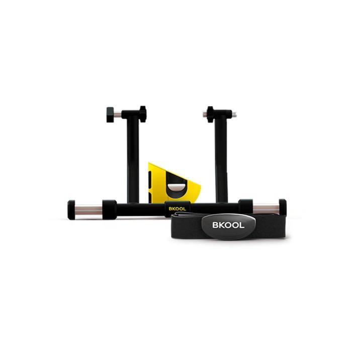 Rodillo Bkool Smart Pro 2 + Pulsómetro Negro/Amarillo