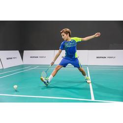 Raquette De Badminton BR 560 Lite Junior - Bleu/Jaune