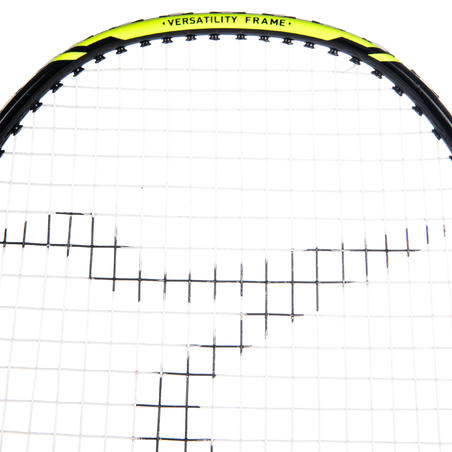 ADULT BADMINTON RACKET BR 160 SOLID BLACK GREEN