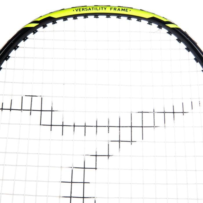 Badmintonracket voor volwassenen BR 160 Solid zwart/groen
