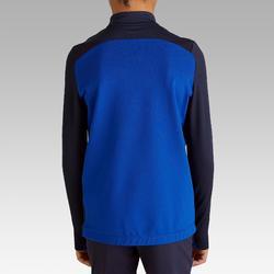 Sweatshirt T900 1/2 Zip Kinder blau/grau