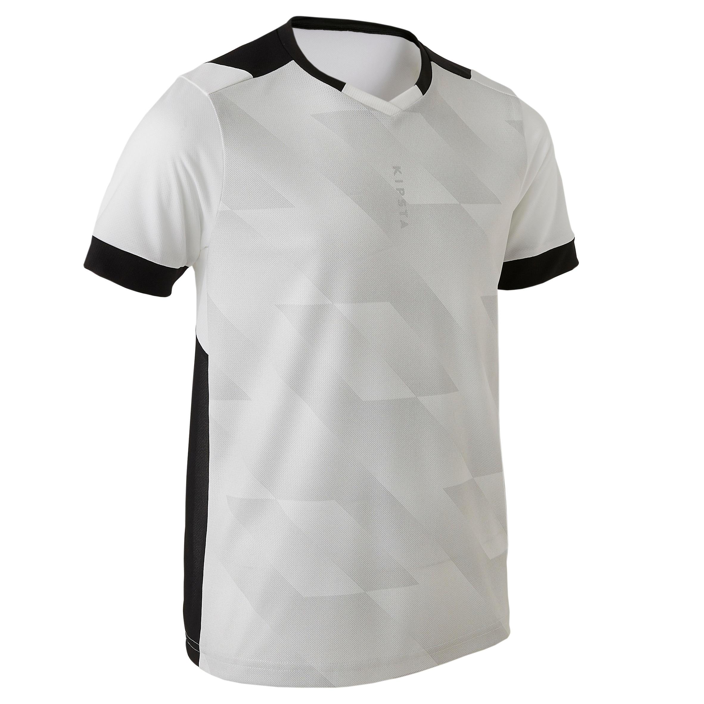 Kipsta Voetbalshirt kind F500 wit/zwart