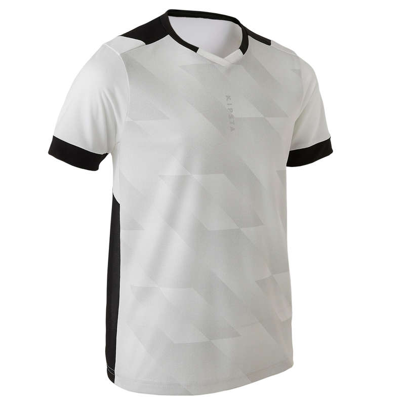 JR WARM WEATHER OUTFIT Football - F500 - White/Black KIPSTA - Football Clothing