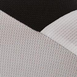 Camiseta de Fútbol júnior Kipsta F500 blanco y negro