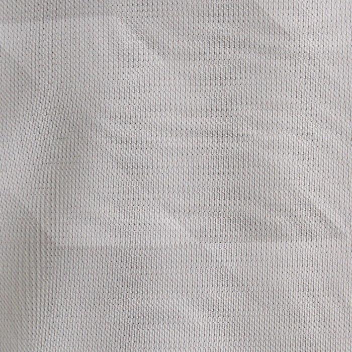 兒童款短袖足球上衣F500-白色/黑色