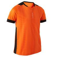"""Vaikiški trumparankoviai futbolo marškinėliai """"F500"""", oranžiniai"""