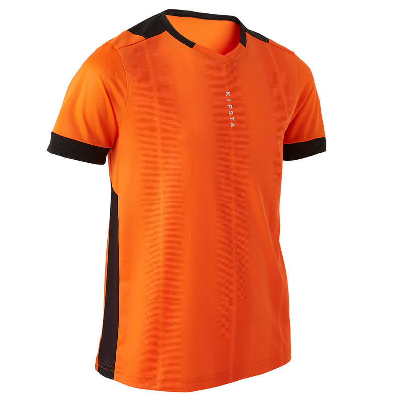 JR WARM WEATHER OUTFIT Football - F500 - Orange KIPSTA - Football Clothing