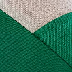 Camiseta de Fútbol júnior Kipsta F500 verde y blanco