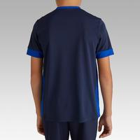 """Vaikiški trumparankoviai futbolo marškinėliai """"F500"""", tamsiai mėlyni"""