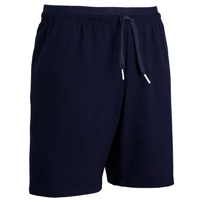 JR WARM WEATHER OUTFIT Football - F500 Kids' Shorts - Navy KIPSTA - Football Clothing
