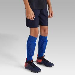 Fußballshorts F500 Kinder marineblau