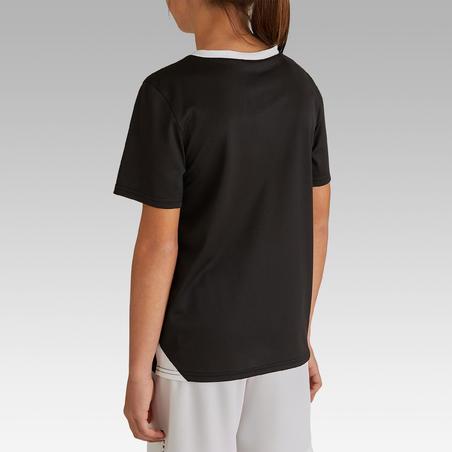 Kids' Football Shirt F100 - Black