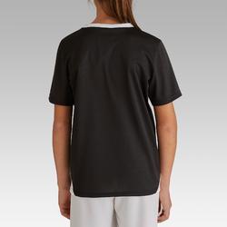 Camiseta de fútbol niños F100 negro
