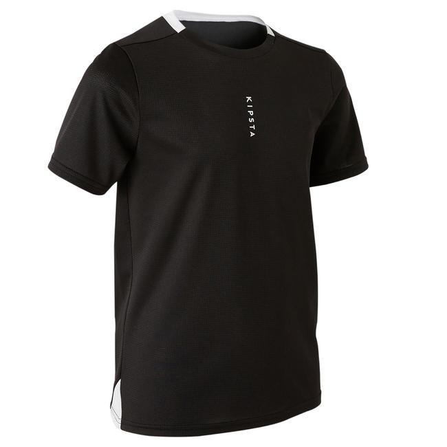 Kids' Football Jersey F100 - Black