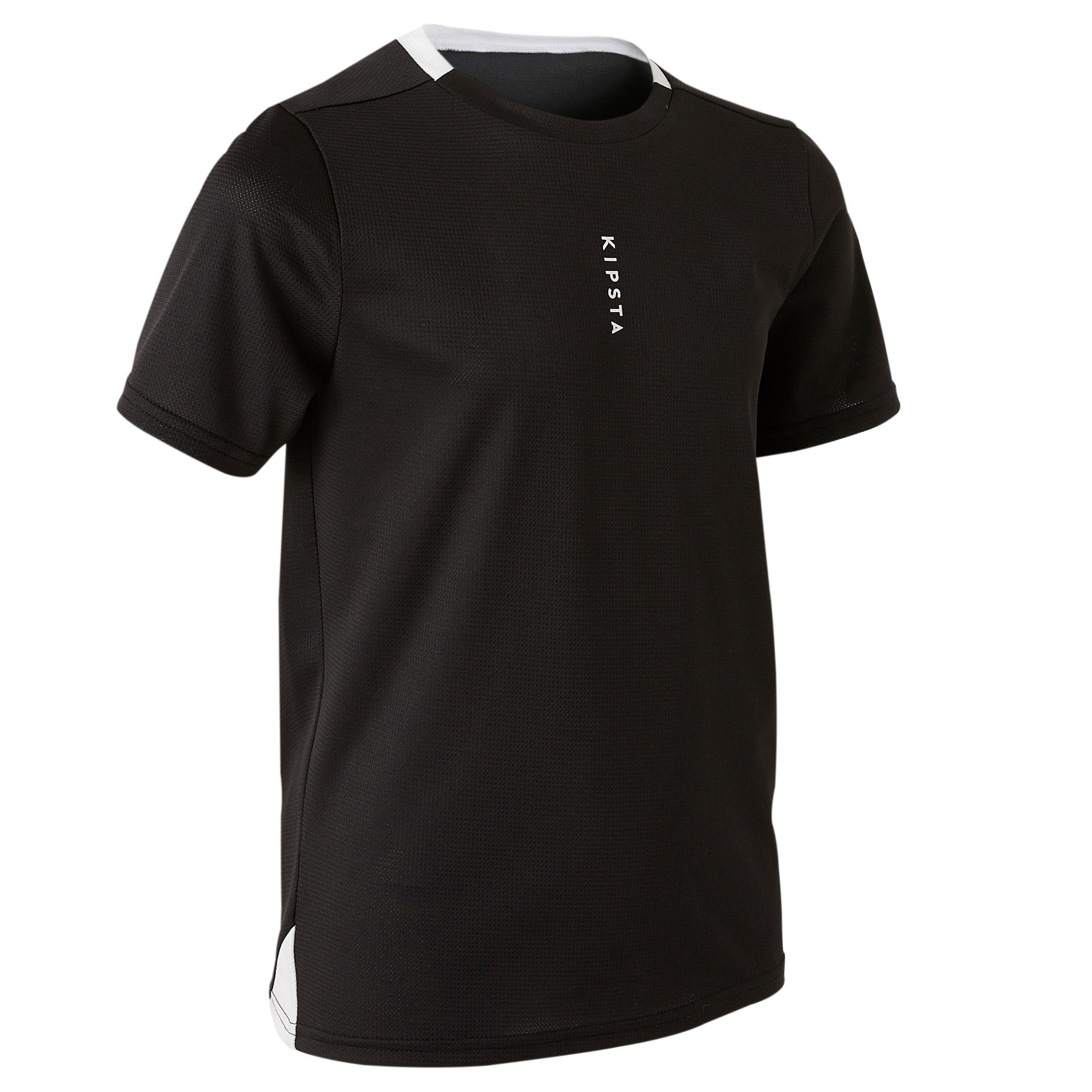 Kipsta Voetbalshirt kind F100 zwart