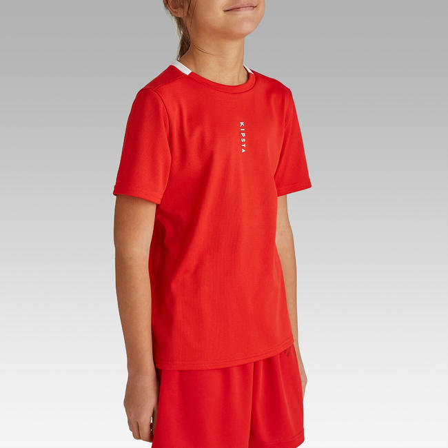 Kids' Football Jersey F100 - Red