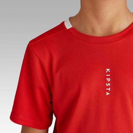 Kids' Football Shirt F100 - Red