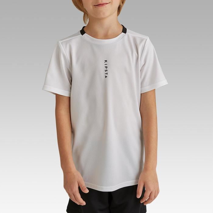 Maillot de football enfant F100 Blanc