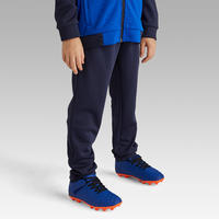 Kids Soccer Training Bottoms F100 - Navy