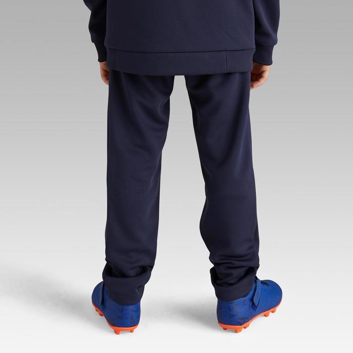 T100 Kids' Football Training Bottoms - Blue