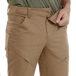 男款越野健行標準雨褲NH500