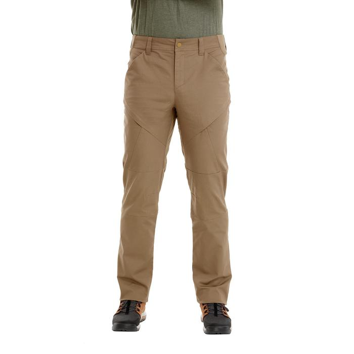 Men's Country Walking Trousers NH500 Regular - Beige
